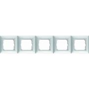Рамка пятиместная ABB Basic 55 альпийский белый