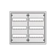 Распределительный щит ABB U32 в нишу 534х560х120 (72 модуля)