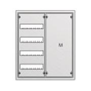 Распределительный щит ABB U42M в нишу 684х560х120 (48 модулей + монтажная плата)