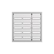 Распределительный щит ABB U53 в нишу 834х810х120 (180 модулей)