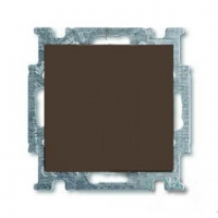Переключатель одноклавишный ABB Basic 55, шато-черный