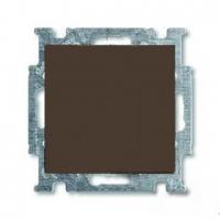Переключатель промежуточный (из 3-х мест) ABB Basic 55, шато-черный
