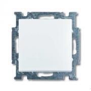 Выключатель одноклавишный ABB Basic 55, белый