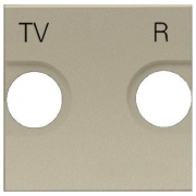 Розетка TV-R без фильтра ZENIT (шампань)