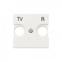 Розетка TV-R оконечная ZENIT (Белый)