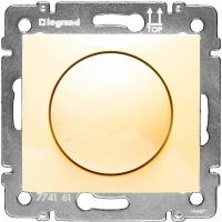 Светорегулятор поворотный 40-400Вт Legrand Valena (Сл. Кость)