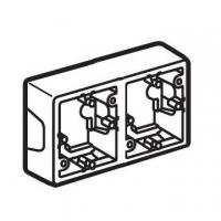 Коробка Valena для накладного монтажа 2 поста Legrand Valena (Сл. Кость)