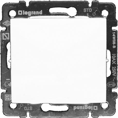 Одноклавишный выключатель влагозащищенный IP 44 Legrand Valena (Белый)