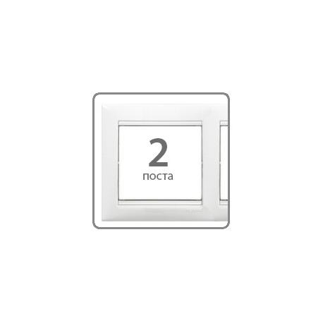 Рамка Valena 2-я Белая