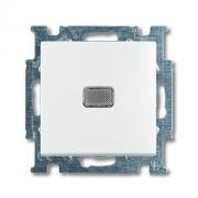 Выключатель одноклавишный с подсветкой ABB Basic 55